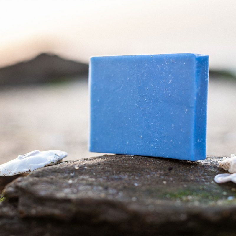 Natural handmade soap with marine active ingredients