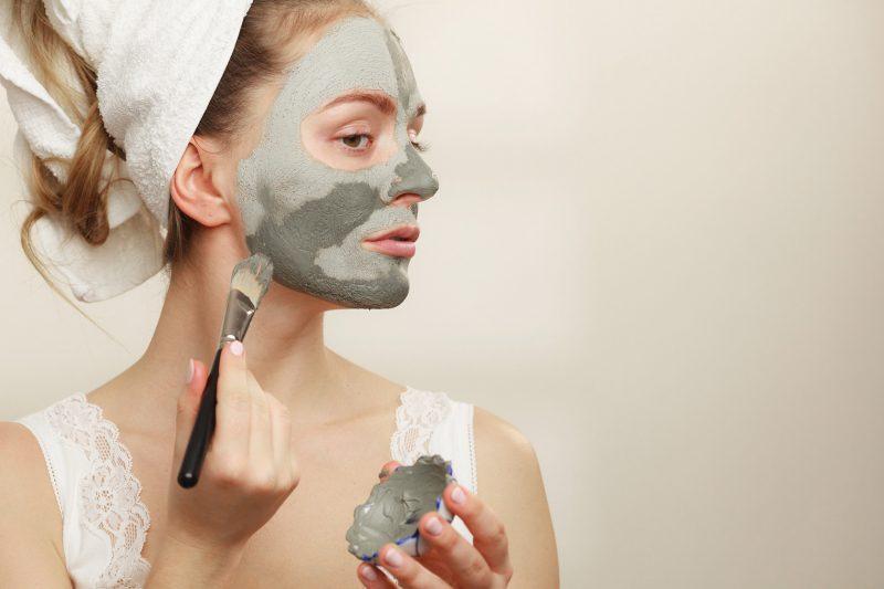 masque argile visage et corps