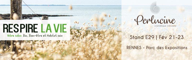 salon respire la vie RENNES stand E29 perlucine