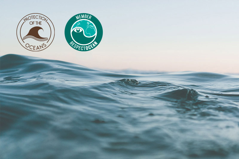 Perlucine - brand committed for the protection of the environnement and oceans