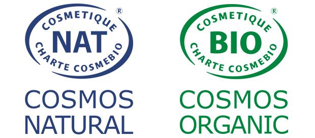 perlucine produits COSMOS natural et organic