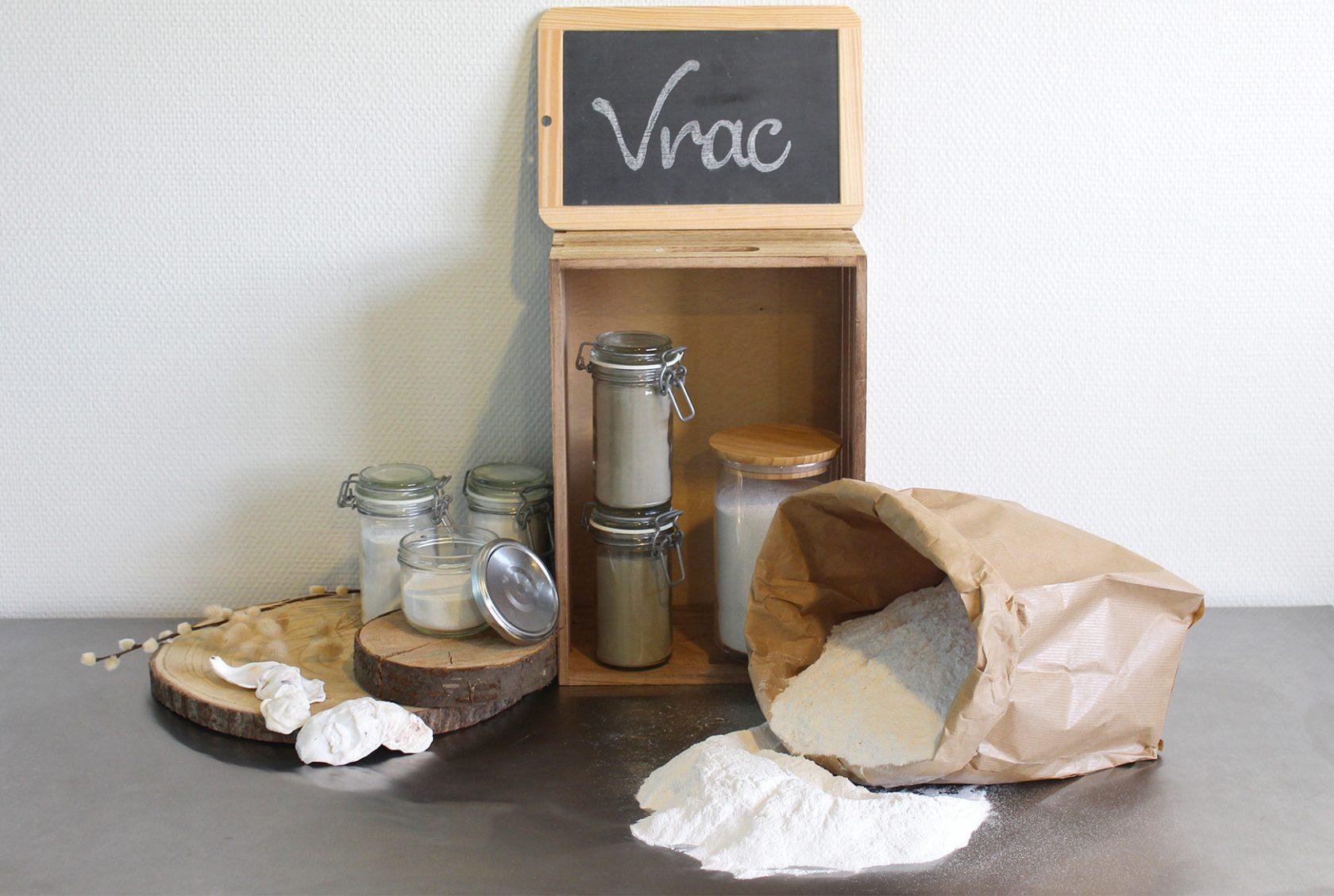 offre vrac cosmétique perlucine - cosmétique naturelle poudre